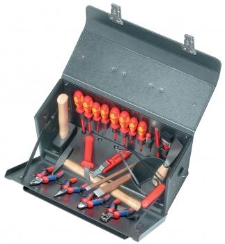 Werkzeugtasche - 24teilig Lehrlings-Werkzeugtasche für die Elektroinstallation
