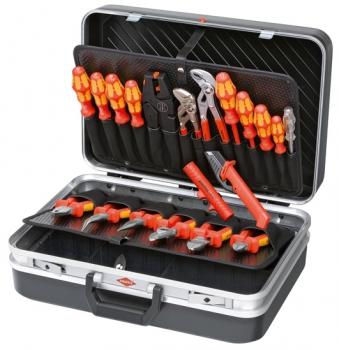 Werkzeugkoffer - ELEKTRO - bestückt mit 20 Markenwerkzeugen