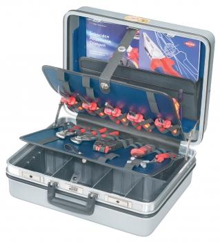 Werkzeugkoffer E-Check 23-teilig bestückt mit 23 Markenwerkzeugen
