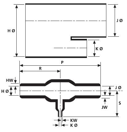 Helashrink® Serie 1200 Verzweigteile (T-Stücke) HellermannTyton