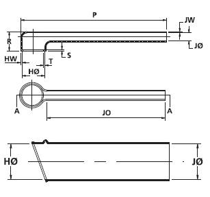 Helashrink® Flachprofil-Formteile 313C722-774 HellermannTyton