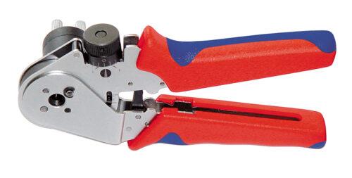 Vierdorncrimpzange PEW 8.72 für POF Ø 2,2 mm Rennsteig