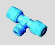 T-Einschraubverschraubung konisch Kunststoff (PP)