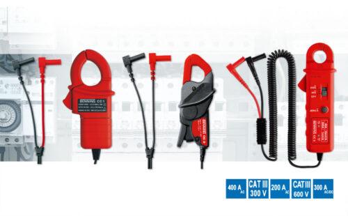 BENNING CC 1, CC 2 und CC 3 Stromzangenadapter für Multimeter