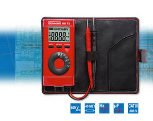 BENNING MM P3 Digital-Multimeter im Taschenformat