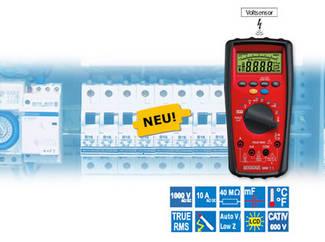 BENNING MM 7-1 Digital-Multimeter mit höchster Sicherheit für industrielle Anwendungen