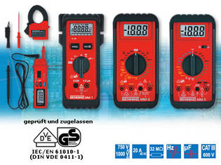 BENNING MM 1 - BENNING MM 4 Digital-Multimeter
