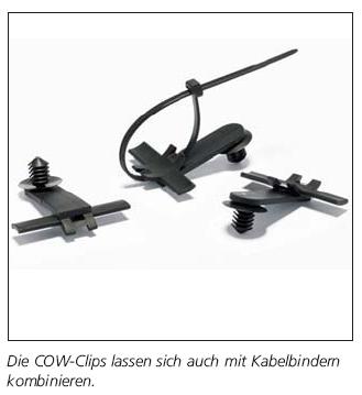 Befestigungselemente COW und CH-Serie HellermannTyton