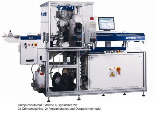 Crimpvollautomat KMI Extreme preisgünstig, sehr leistungsfähig
