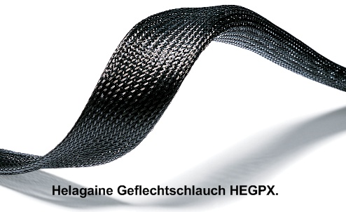Helagaine Geflechtschläuche HEGP und HEGPX HellermannTyton