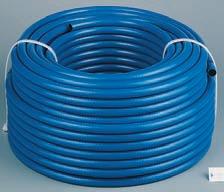 Universal-PVC-Schlauch mit Gewebeeinlage H-S9 beständig gegen ölhaltige Luft