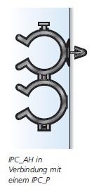 Befestigungselemente für Rohre und Leitungen, IPC- und OHC-Serie HellermannTyton