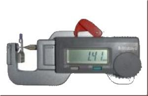Schnellmessgerät - Digital zur Crimphöhenmessung