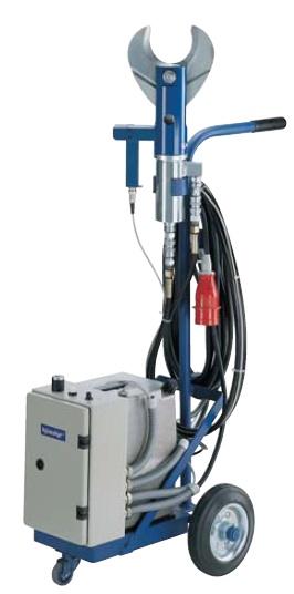 K 303 Hydraulik Schneidwerkzeuge mit elektrischem Hydraulikaggregat von Ø 90 mm bzw. Ø 120 mm