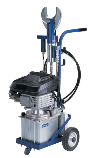 K 404 Hydraulik Schneidwerkzeuge mit Verbrennungsmotor von Ø 90 mm bzw. Ø 120 mm