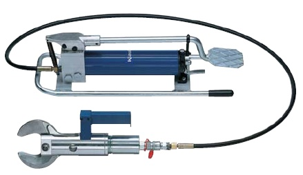 K 502 Hydraulisches Schneidwerkzeug mit Fußpumpe max. Ø 50 mm