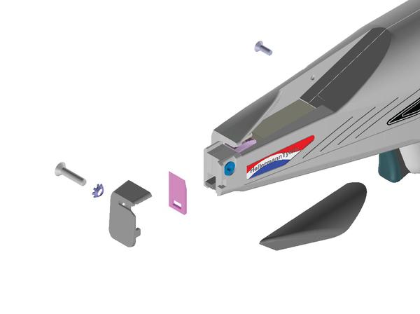 MK 7P pneumatisches Verarbeitungswerkzeug 110-07100 HellermannTyton