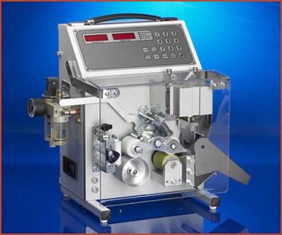 Schneidemaschine SP 101 Standard Elektropneumatische Ablängmaschine