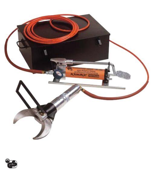 SSG Hydraulische Sicherheitsschneidgeräte  mit Fußpumpe