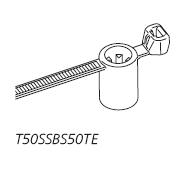 Befestigungsbinder T50SSBS50TE HellermannTyton
