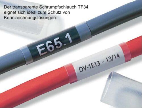 TF34 Schrumpfschlauch HellermannTyton