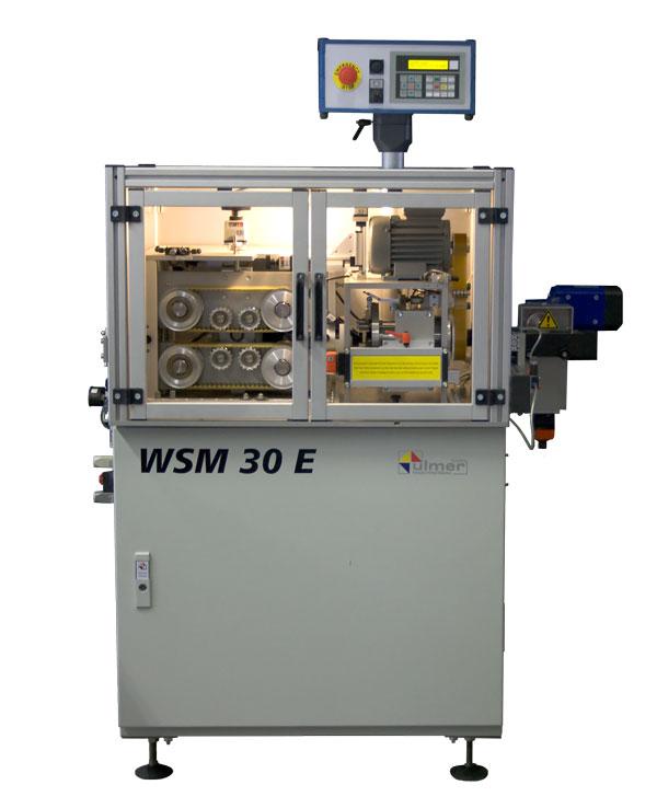 Wellrohrschneidemaschine WSM30E - WSM60E  Ulmer