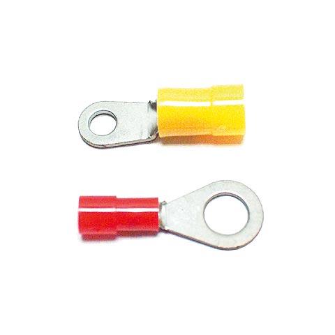 Ringkabelschuhe, teilisoliert nach UL Nr. E18295 1 zertifiziert