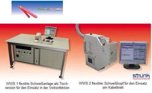 Kabelschweissen - WWS -Serie