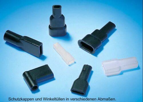 Schutzkappen und Winkeltüllen HellermannTyton
