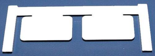 Gerätemarkierer, Clipcard CC 15/27 MC NEUTRAL WS