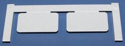 Gerätemarkierer, Clipcard CC 15/27 MC NEUTRAL SI