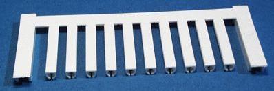 VT SF 1/21 NEUTRAL WS V0, Weidmüller Leitermarkierer, SlimFix 0 (0,5 - 0,8 mm²)