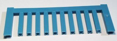 SF 1/21 NEUTRAL BL V2, Weidmüller Leitermarkierer, SlimFix 0 (0,5 - 0,8 mm²)