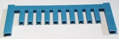 SF 2/12 NEUTRAL BL V2, Weidmüller Leitermarkierer, SlimFix 0 (0,5 - 0,8 mm²)