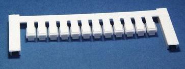 ZS 10/5 MC NEUTRAL Weidmüller Klemmenmarkierer, Verbindermarkierer, 10 x 5 mm