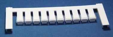 ZS 12/6 MC NEUTRAL Weidmüller Klemmenmarkierer, Verbindermarkierer, 12 x 6 mm