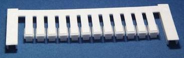 ZS 15/5 MC NEUTRAL Weidmüller Klemmenmarkierer, Verbindermarkierer, 15 x 5 mm