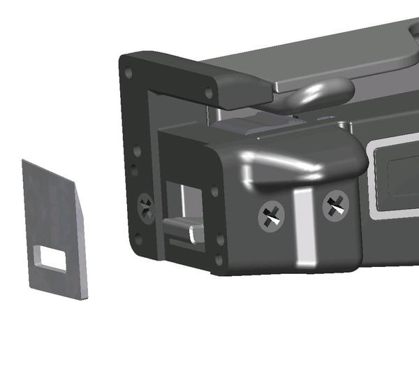 Ersatzmesser für MK9P 110-09111  HellermannTyton