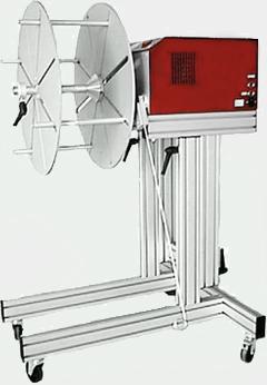 PFA 120 Zuführgerät Abrollgerät mit angetriebener Achse