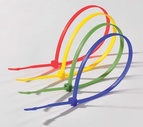 Q-tie Kabelbinder aus Polyamid 6.6 standard  (PA66), farbig