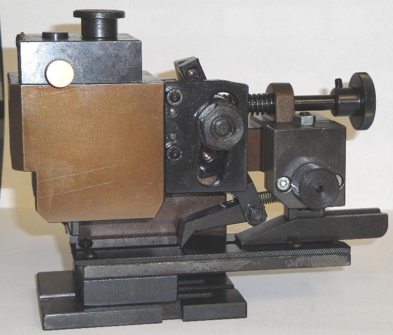 Crimpwerkzeug mechanischer Längstransport - LEER - mit Feineinstellkopf