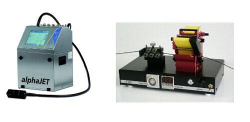 Laserkennzeichnung, Heißprägedrucker und Tintenstrahldrucker