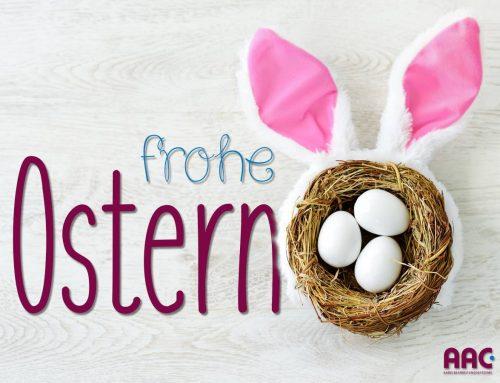 Die AAC Kabelbearbeitungssysteme GmbH wünscht frohe Ostern!