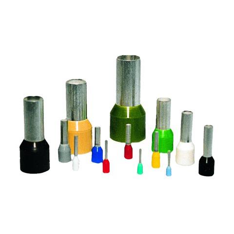 Aderendhülsen mit Kunststoffkragen lose Bauform