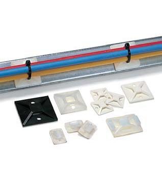 Befestigungselemente für Kabelbinder
