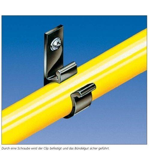 Befestigungselemente für Kabel und Leitungen