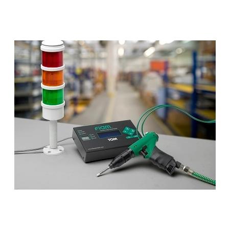 Schrauber mit Druckluftabschaltung, mit Erkennung des Pneumatiksignals
